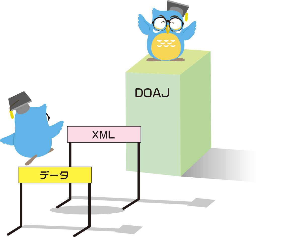 DOAJ登載のイメージ図|JJSニュースレター13