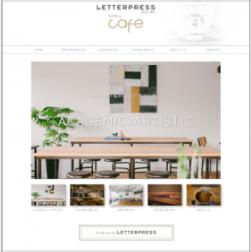レタープレス株式会社 カフェサイト
