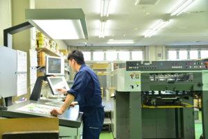 レタープレス印刷オペレータ